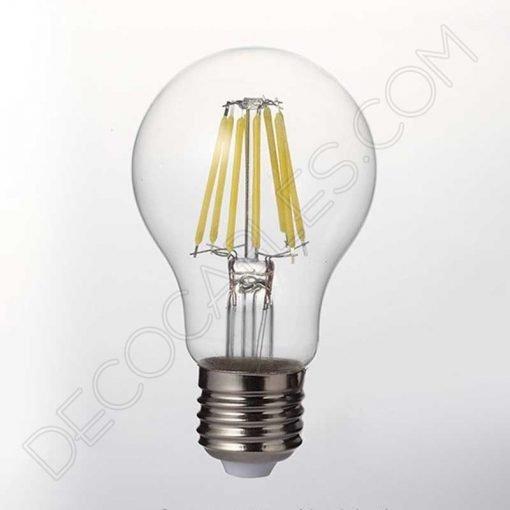 Bombilla filamento led estándar 8W casquillo E27