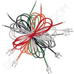 Cable de conexión para lámpara varios colores