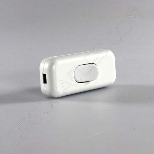 Interruptor de paso para lámparas unipolar en color blanco