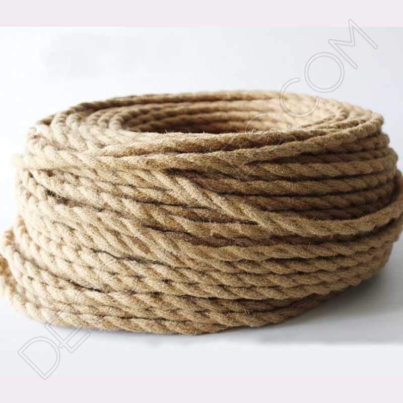 cable elctrico trenzado de cuerda de camo 01