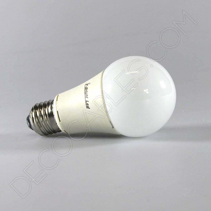 Bombilla led est ndar de 12w casquillo e27 for Luz blanca o amarilla
