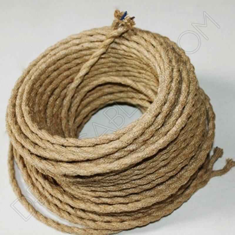 cable trenzado de cuerda de camo 2 hilos - Cuerda De Caamo
