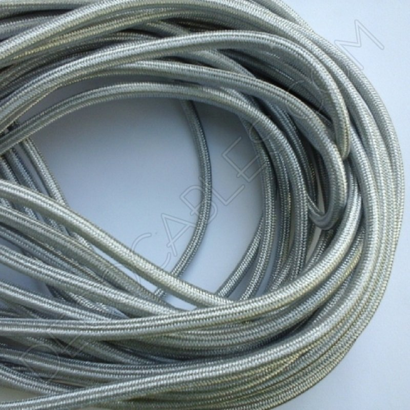Cable el ctrico met lico plata for Cables telefonillo colores