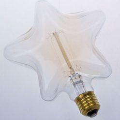 Bombilla Estrella de filamento de carbono modelo Edison E27
