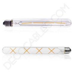 Bombilla filamento led tubular extra larga casquillo E27
