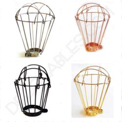 Jaula industrial para lámparas colgantes