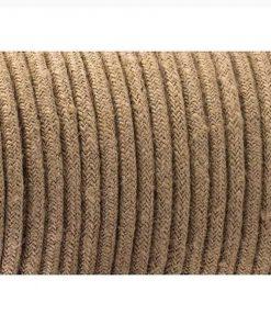 Cable eléctrico de cuerda de cáñamo redondo