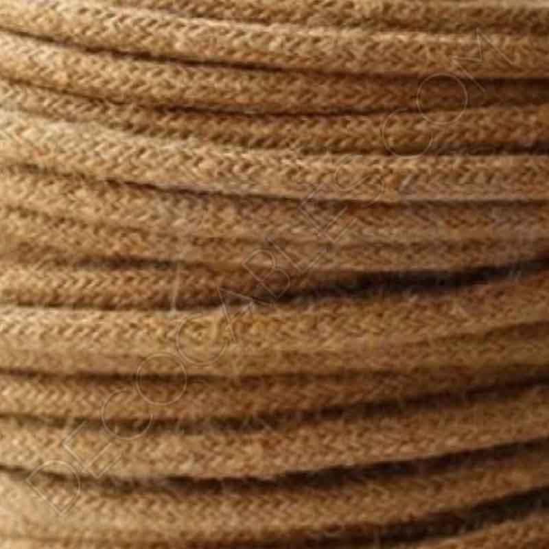 cable elctrico redondo de cuerda de camo