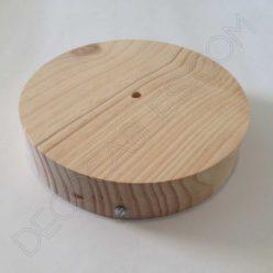 Soporte de techo florón en madera tamaño grande