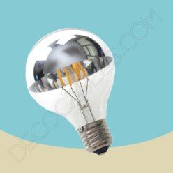 Bombilla filamento led c pula con espejo tama o 95mm de di metro - Espejo con bombillas ikea ...