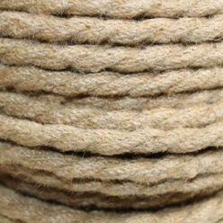 Cable trenzado de cuerda de cáñamo 3 hilos