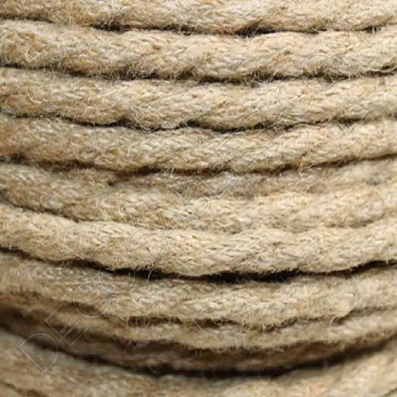 cable trenzado de cuerda de camo hilos