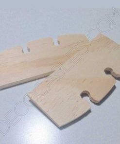 Regulador de altura para cable de lámparas en madera