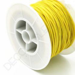 Cable eléctrico de silicona amarillo