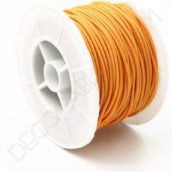 Cable eléctrico de silicona naranja
