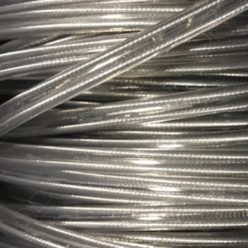 Cable eléctrico de silicona transparente