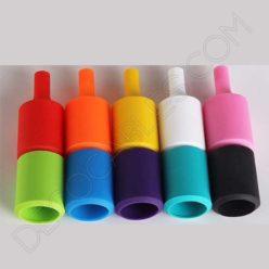 Portalámpara de silicona varios colores