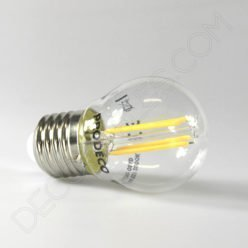 Bombilla de filamento led esférica casquillo E27