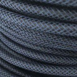 Cable eléctrico efecto cuero azul oscuro