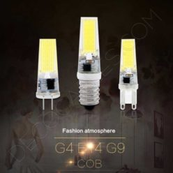 Bombillas LED G4 y G9