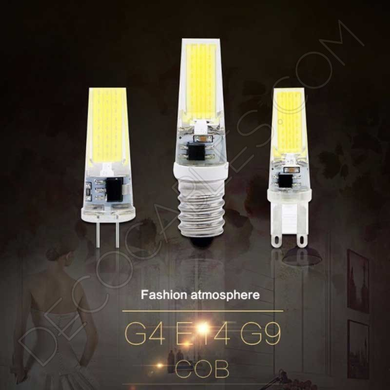 Bombillas led g4 y g9 decocables - Bombilla led g9 ...