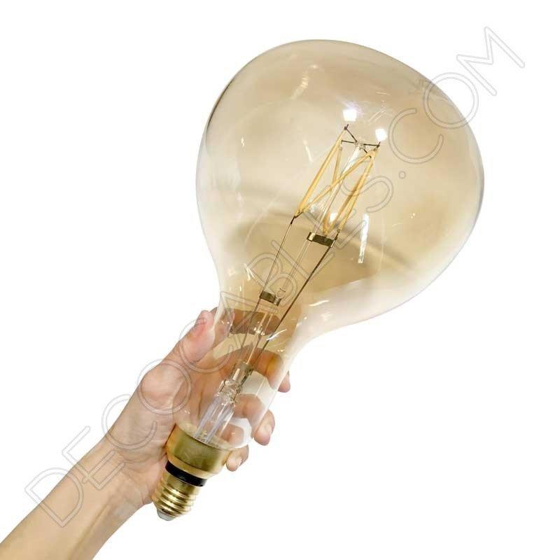 Bombilla filamento led gigante modelo globo achatado de gran tama o - Lamparas bombilla gigante ...