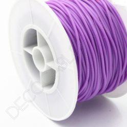 Cable eléctrico de silicona morado