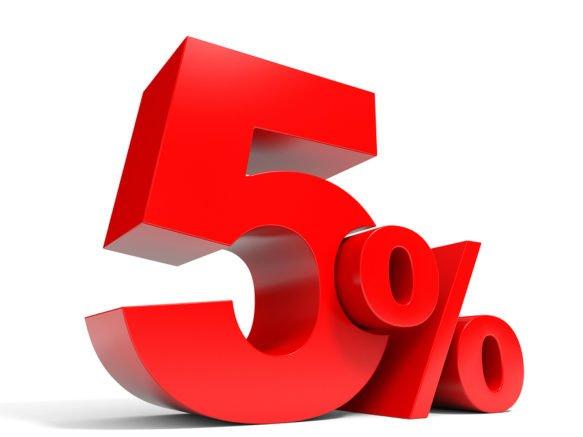 Descuento 5%