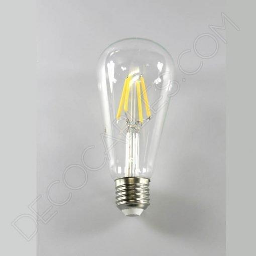 Bombilla filamento led pebetero E27