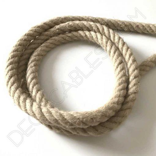 Cable eléctrico soga cuerda barco 20mm