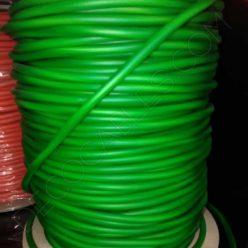 Cable eléctrico de silicona verde
