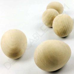Huevo de madera para cable