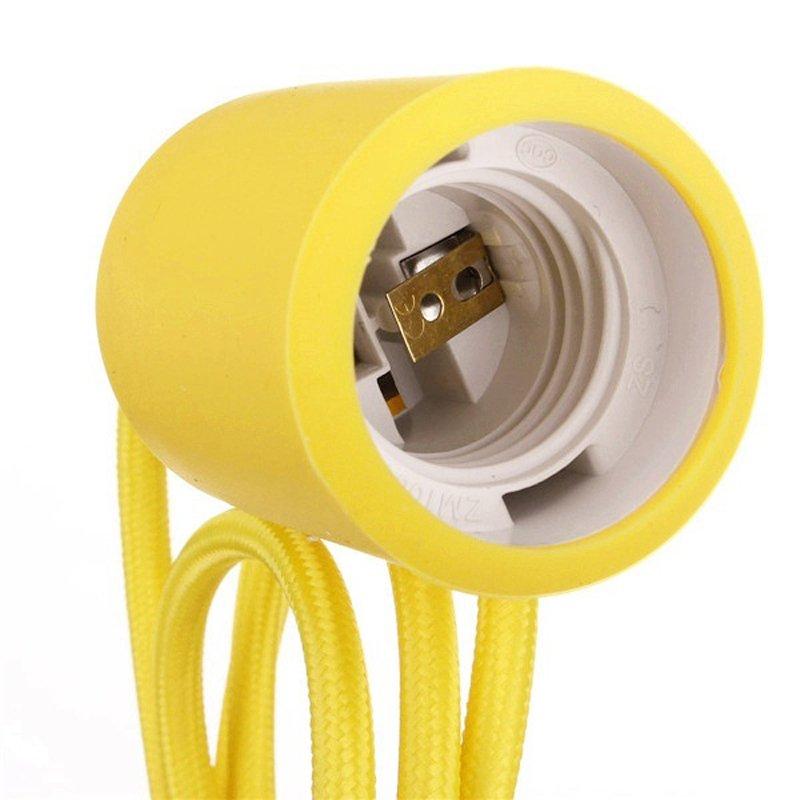 L mpara ara a amarilla de silicona - Tipos de lamparas de techo ...