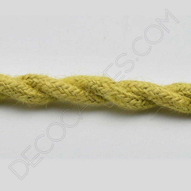 Cable elctrico trenzado de cuerda de camo de colores irresistible