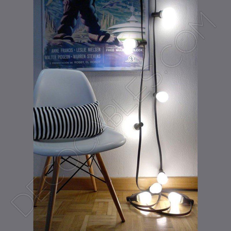 Guirnalda luces de feria b sica decocables for Guirnaldas de luces