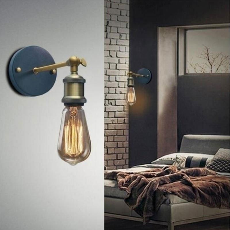 L mpara aplique de pared vintage de un brazo al mejor precio - Lamparas de aplique para pared ...