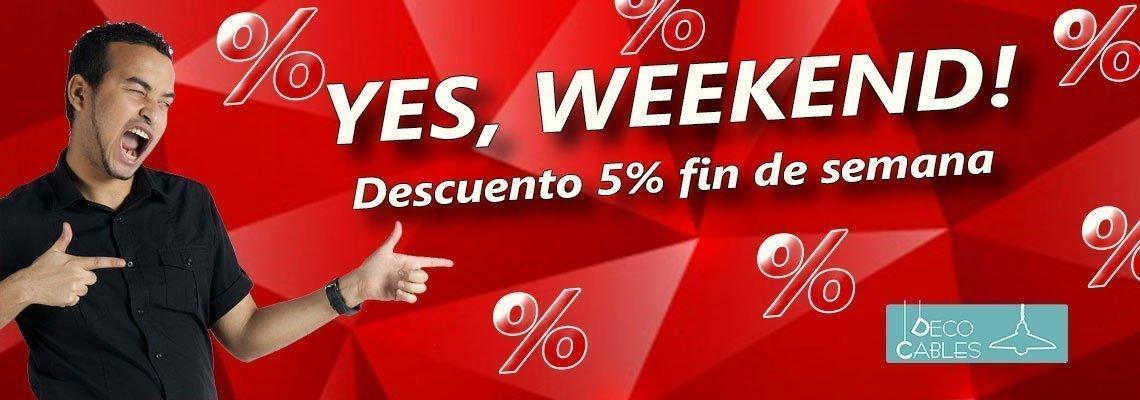 yes weekend oferta especial 55 descuento fin de semana Decocables