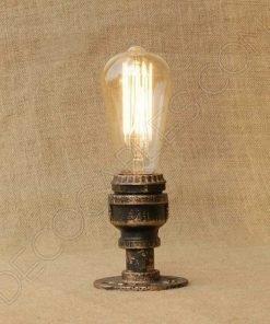 Lámpara de techo tubería modelo industrial