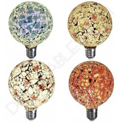 Bombilla decorativa led globo modelo Tiffany