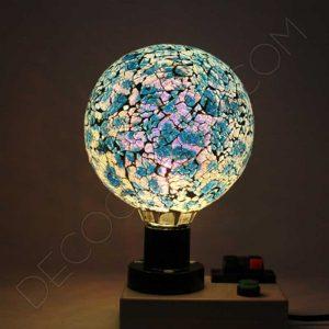Bombilla decorativa led globo modelo Tiffany