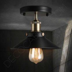 Lámpara plafón de techo modelo vintage