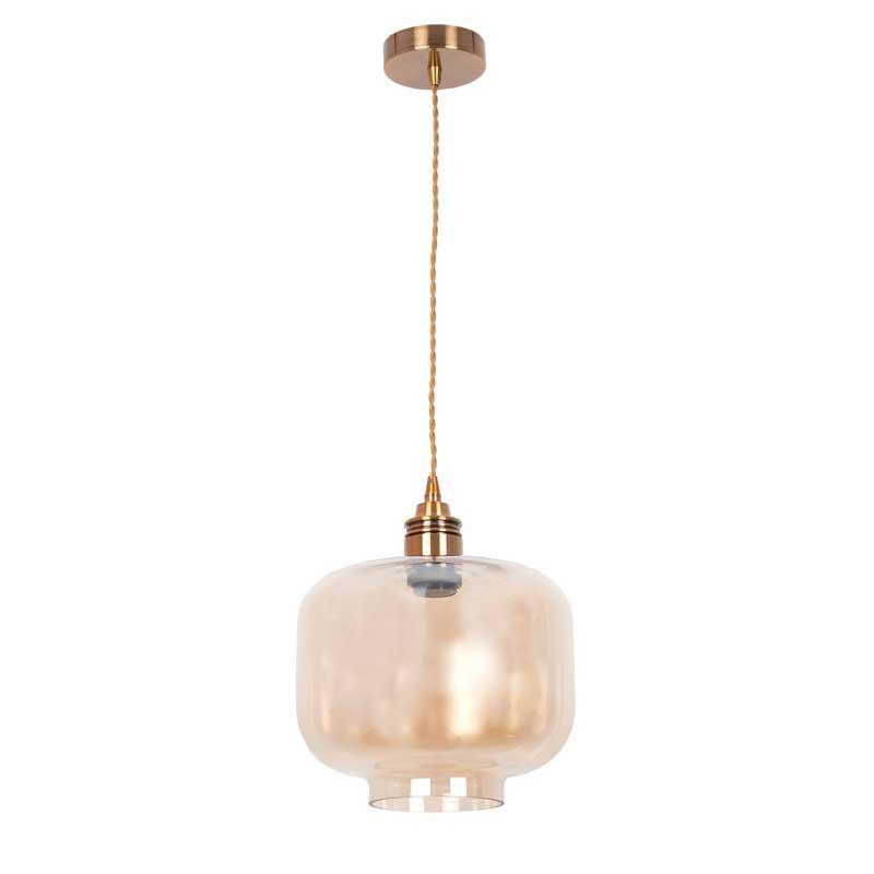 Lámpara Ámbar Muriel Cristal Ámbar Colgante Colgante Cristal Lámpara Lámpara Muriel 5R4ALj