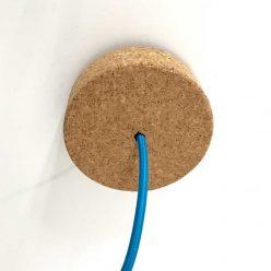 Soporte de techo de corcho para lámparas