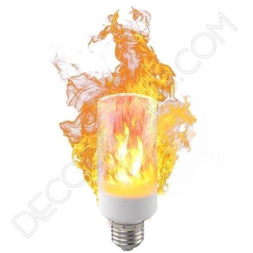 Bombilla led efecto llama fuego