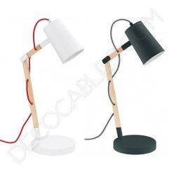 Lámpara de sobremesa tipo flexo de diseño nórdico modelo Torona
