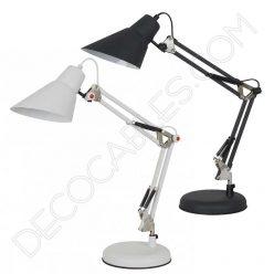 Lámpara flexo de escritorio articulado modelo lugo