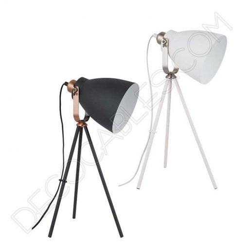 Lámpara de escritorio Vintage modelo tripode