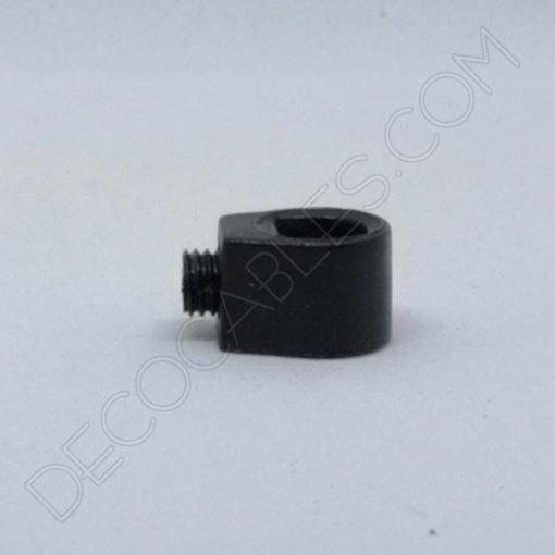 Presa cables plástico para sujeción interna del cable color negro