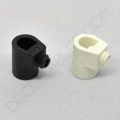 Presa cables plástico para tubo roscado