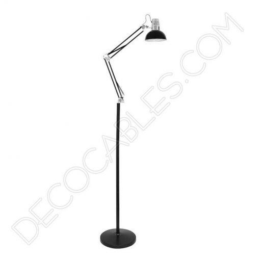 Lámpara flexo de pie Antígona articulable